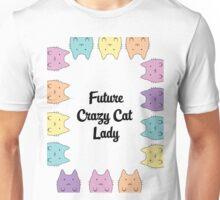 Future Crazy Cat Lady Unisex T-Shirt