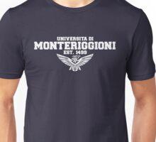 Universita di Monteriggioni (White) Unisex T-Shirt