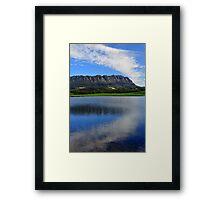 Tasmania Landscape, Sheffield, Mt Roland Framed Print
