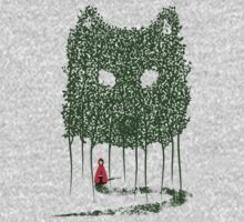 Red & The Wolf One Piece - Long Sleeve