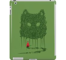 Red & The Wolf iPad Case/Skin