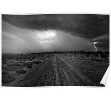 Salt Creek  - Kalgoorlie Gold Fields-  Western Australia  Poster