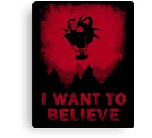 I Want to Blast Off Canvas Print