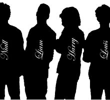 One Direction 2015 - Niall, Liam, Harry and Louis by JavanDG