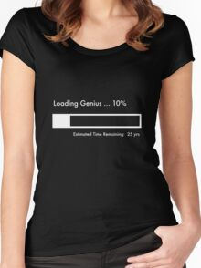 Loading Genius... Women's Fitted Scoop T-Shirt