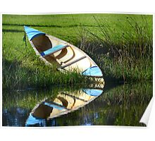 Lonely Canoe Poster