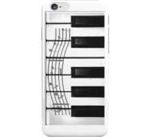 Piano Keys of the Heart iPhone Case/Skin