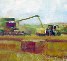 Harvest: Abstract Landscape by Samuel Durkin