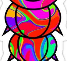 Colorful Caterpillar Sticker