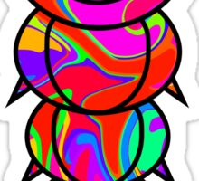 Colorful Caterpillar Sticker