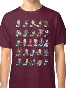 ABC of Geek Culture Classic T-Shirt