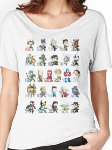 ABC of Geek Culture Women's Relaxed Fit T-Shirt