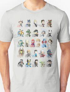 ABC of Geek Culture T-Shirt