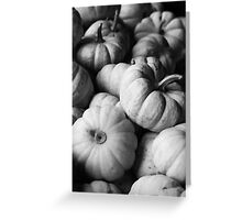 Baby Boos in Black and White Greeting Card