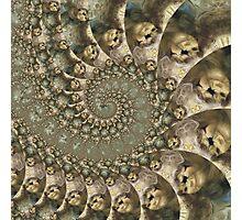 Unhappy Halloween Photographic Print