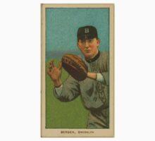 Benjamin K Edwards Collection Bill Bergen Brooklyn Dodgers baseball card portrait 002 One Piece - Short Sleeve