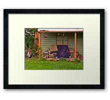 Rustic Hill End Framed Print