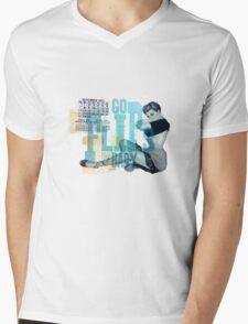 GoFlipsBaby Mens V-Neck T-Shirt