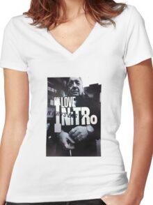 iLoveNitro Women's Fitted V-Neck T-Shirt