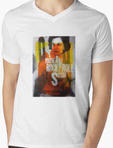 RockNRollSuicide Mens V-Neck T-Shirt