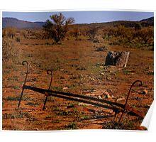 Out Back Australia Landscape Poster