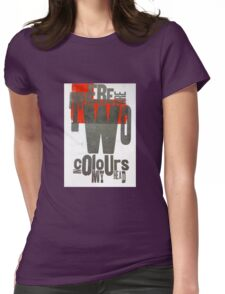 TwoColoursinMyHead Womens Fitted T-Shirt