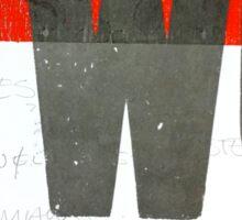 TwoColoursinMyHead Sticker