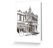 Kensington, Melbourne Victoria.  Bellair St.  Greeting Card