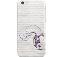 M Blackwell - I Want to Win One of Them Spacepens. iPhone Case/Skin