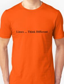 Linux ... Think Different T-Shirt