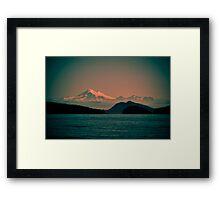 Mount Baker, Washington Framed Print