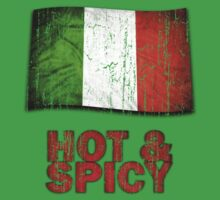 Hot And Spicy Italian One Piece - Short Sleeve
