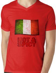 Hot And Spicy Italian Mens V-Neck T-Shirt