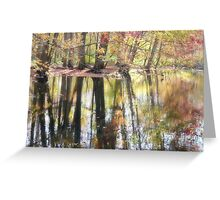Magic on the River Greeting Card