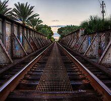 Railroad Bridge - Gainesville, FL by Bill Wetmore