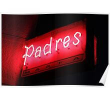 Padres Poster