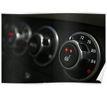 2010 Range Rover HSE Control Panel - Side View Poster