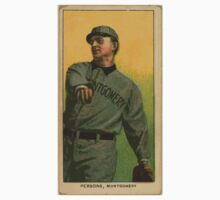 Benjamin K Edwards Collection Arch Persons Montgomery Team baseball card portrait One Piece - Long Sleeve