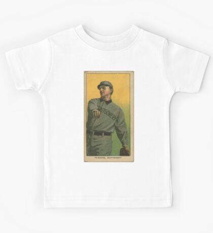 Benjamin K Edwards Collection Arch Persons Montgomery Team baseball card portrait Kids Tee