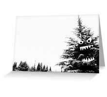 Monster Tree Greeting Card