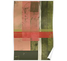 Patchwork abstract 1 Poster