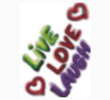 Live Love Laugh One Piece - Short Sleeve