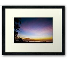 Darwin Sunset 2 Framed Print