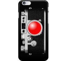 Camera Black iPhone Case/Skin
