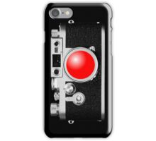 Camera Black iPhone Case/Skin