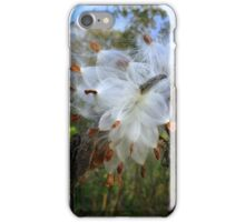 Milkweed Art iPhone Case/Skin