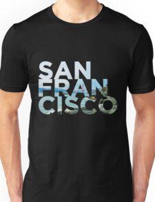 San Francisco Picture Word Unisex T-Shirt