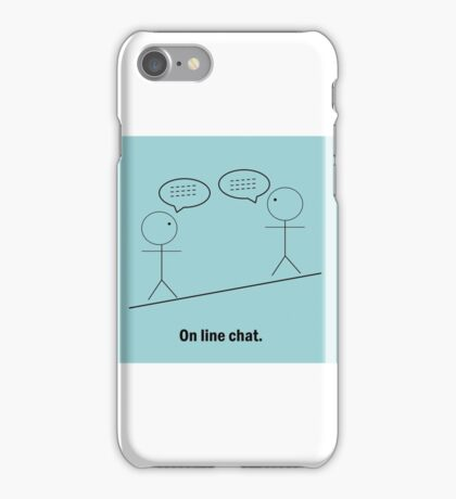 Online Chat iPhone Case/Skin