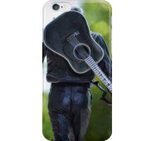 Man in Black  iPhone Case/Skin