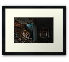 Block 9 Nurses Quarters Framed Print